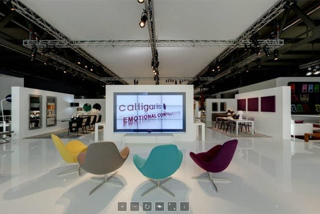 Calligaris, Italian home design since 1923 Salone del Mobile 2012