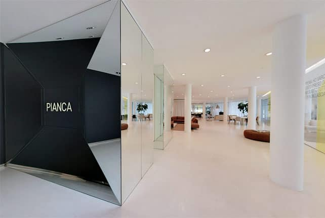 Pianca Spa Showroom 2012