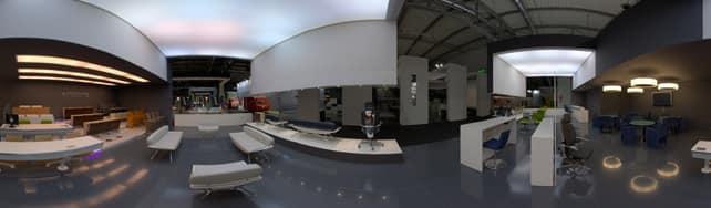 Ares Line Spa proiezione sferica