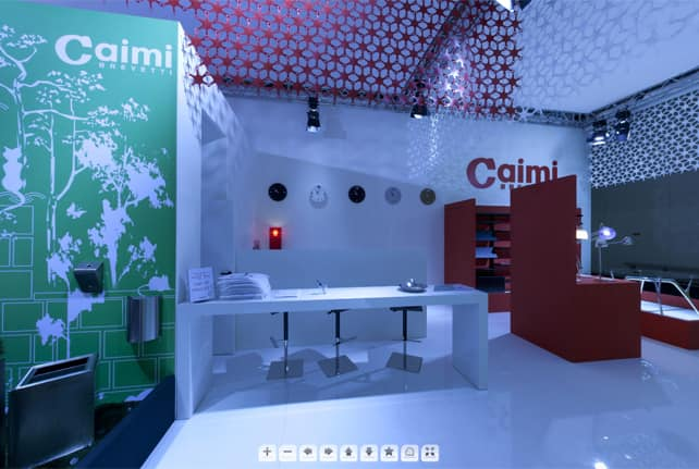 Caimi showroom