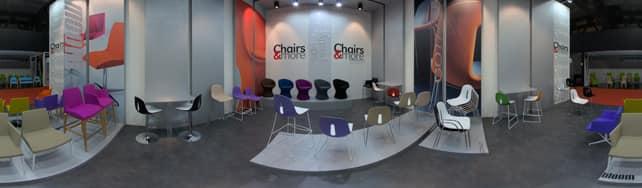 Vue panoramique de Chairs & More sur IDFshowroom