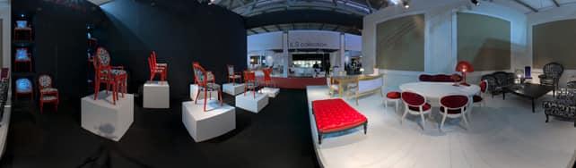 Vue panoramique de Chairs Modonutti sur IDFshowroom
