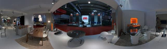 Vue panoramique de COM.P.AR sur IDFshowroom