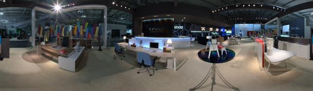 Vue panoramique de DVO sur IDFshowroom