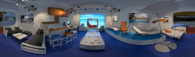 Vue panoramique de Ego Paris sur IDFshowroom