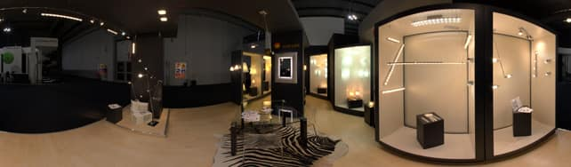 Panoramic view of Elesi Luce on IDFshowroom