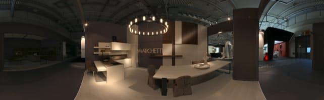 Mobilificio d'arte Marchetti Spa proiezione sferica