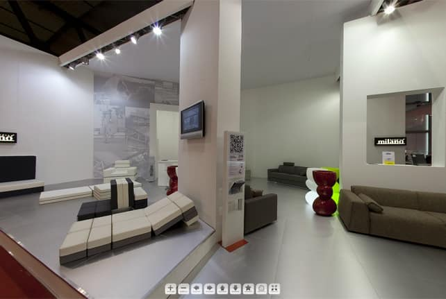 Milano Bedding showroom