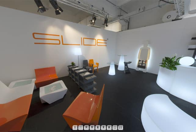 Slide showroom