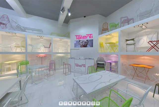Talenti showroom