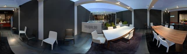 Vue panoramique de Trabaldo sur IDFshowroom